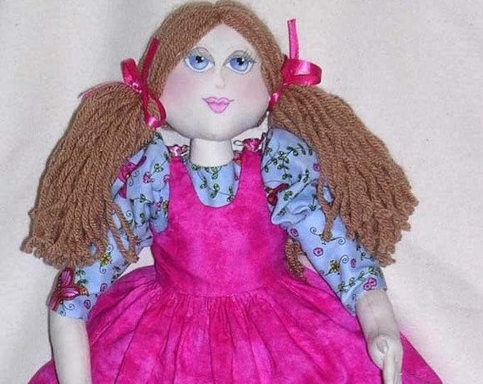 NH705E – Polly, Cloth Doll Pattern – Polly, Cloth Doll Pattern
