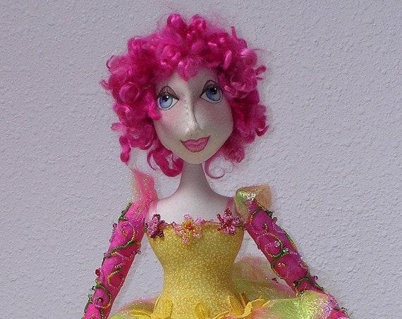 NH701E - Lisette, Cloth Doll Pattern