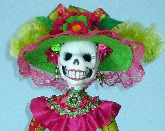 AB510E - La Catrina Cloth Doll Pattern