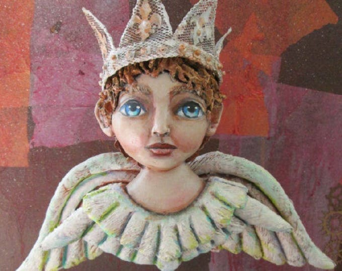Doll Making Class, Shabby Chic Angel, Art Doll Project by Susan Barmore (PDF Download) - SE530E