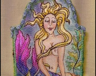 PL832E – Mermaid Fabric Box, Online PDF Download Class by Patti LaValley