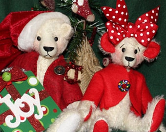 CH101E - How to Make a Teddy Bear Tutorial and Pattern  ~ PDF Download Sewing Tutorial