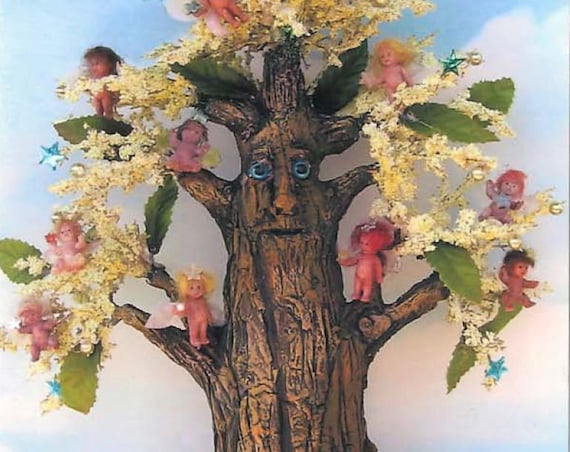 SE458 - Fairy Tree, Fabric Pattern,  Sewing Cloth Doll Pattern - PDF Download by Susan Barmore
