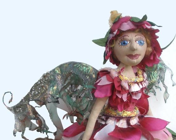 MM252E - BLOSSOM, a Fairy Cloth Doll Pattern