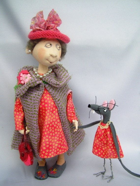 JM933E - Maisie & Meridith, Cloth Doll Making Sewing Pattern PDF