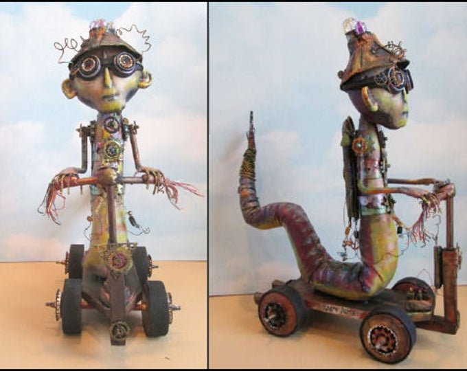 Doll Making Class, Spare Parts, Steampunk Art Doll Project by Susan Barmore (PDF Download) - SE515