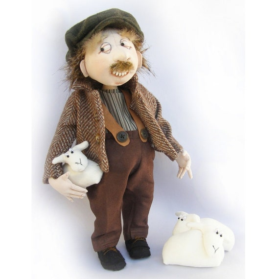 JM945E - Harry Humperpickle PDF Cloth Doll Making Pattern