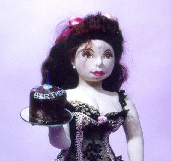 MW452E - Happy Birthday, Honey PDF Cloth Doll Making Sewing Pattern