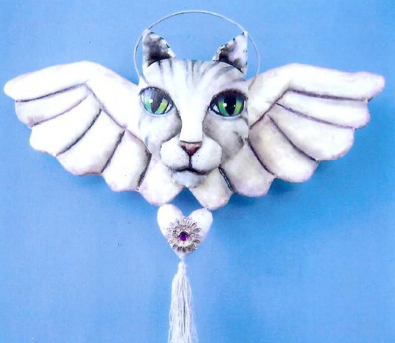 SE765E -  Victorian Cat, Doll/Animal Art Pattern - PDF Download by Susan Barmore