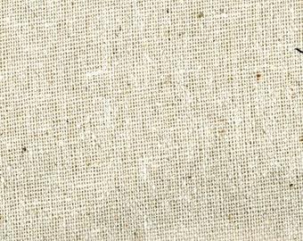 Primitive Doll Making Fabric -  Osnaburg Muslin - 100% Cotton - Natural, Cloth Doll Making Fabric, Doll Skin/Body - 1 Yard