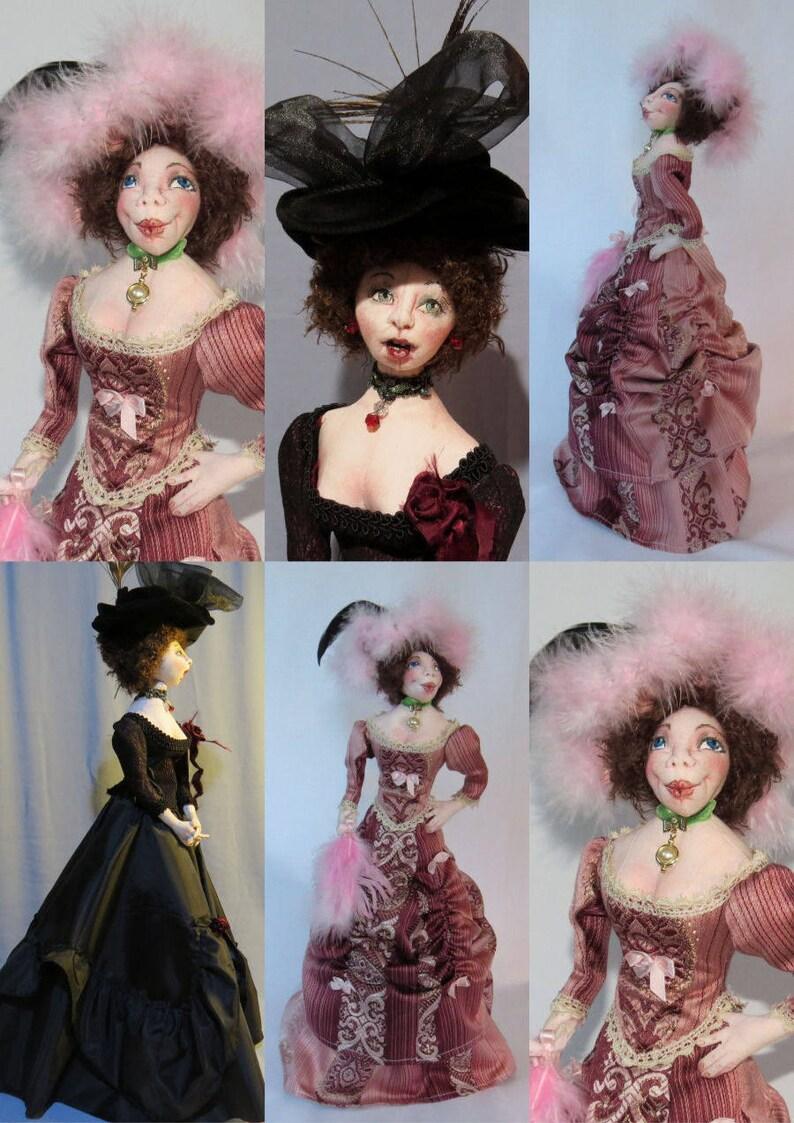 SM910E Hello Dolly! Cloth Doll Pattern