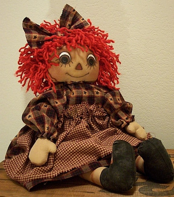 RP320E - My Brown Eyed Girl PDF Download Cloth Doll Pattern