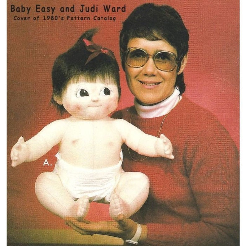 Baby Easy  Vintage 25 Cloth Baby Doll Making E-Pattern image 0