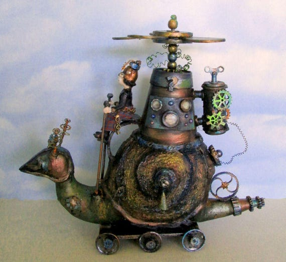 Doll Making Class, Slow Rider ,  Steampunk Art Doll Project by Susan Barmore (PDF Download) - SE513