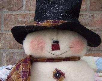 RP219E - Brando PDF - Fabric Sewing Pattern - Snowman Doll