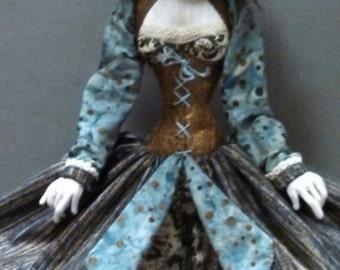 SG245E - Jeanie B. PDF Doll Pattern