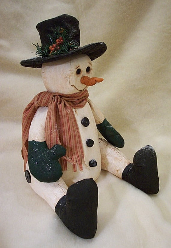 RP308E - Mr. Frost PDF Download Sewing Pattern, Snowman