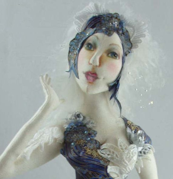PL825E - Storm Dancer PDF Cloth Art Doll Pattern