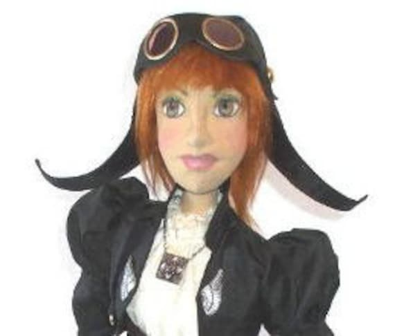 LL501E - Amelia PDF Cloth Doll Pattern