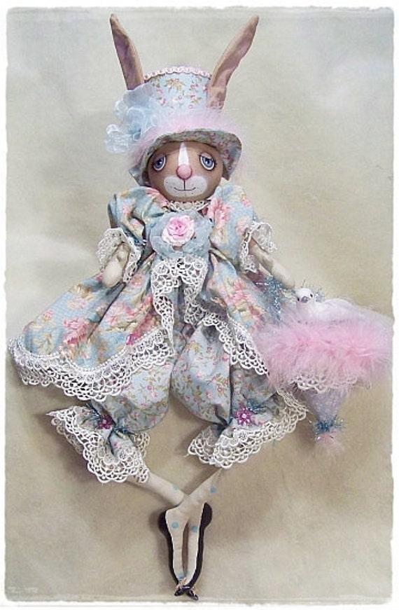 RP348E - Bunny Foo Foo PDF Cloth Doll Making Sewing Pattern