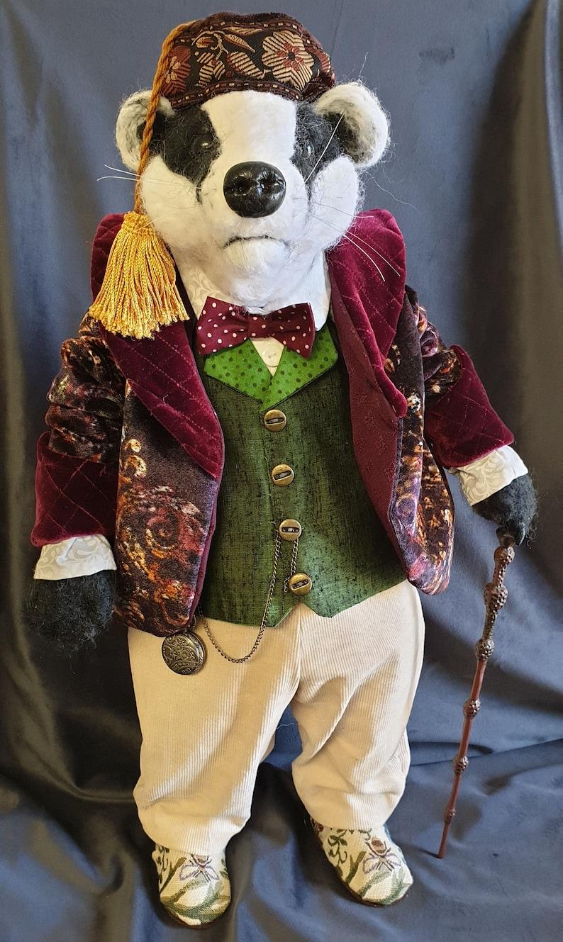 SR847E  Badger   Storybook Cloth Doll Making Sewing Pattern image 0