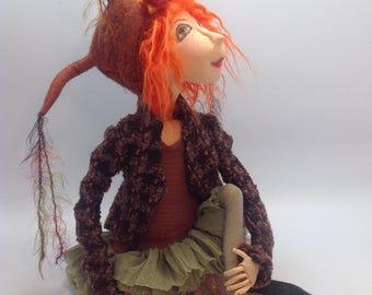 JM957E - Irene Mary PDF Cloth Doll Making Sewing Pattern