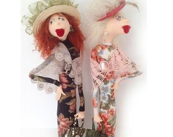 Cloth Doll EPattern - JM946E - Leonora and Lily PDF