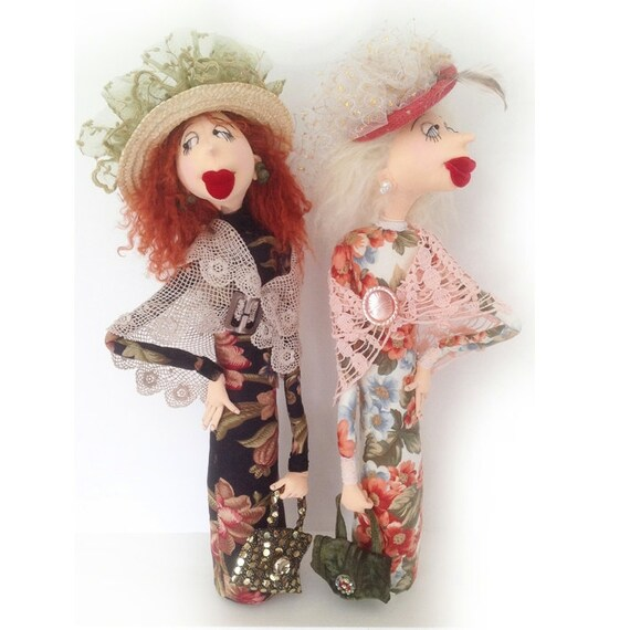 Cloth Doll EPattern - JM946E - Leonora and Lily PDF