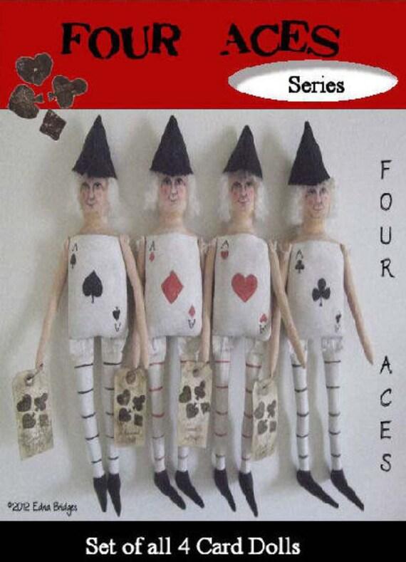 BR214E - 4 Aces Card Dolls PDF