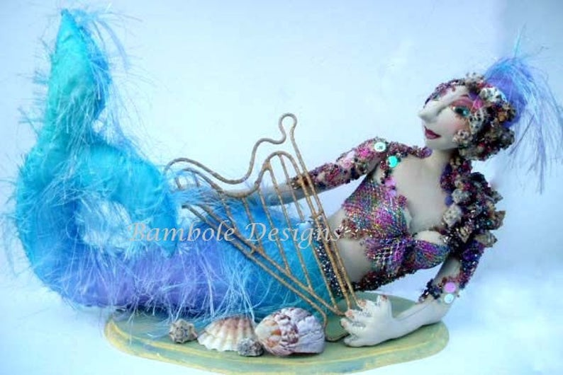 Mermaid Cloth Doll Pattern MM241E \u2013 Viola PDF