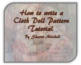 SM921E - How to Write a Cloth Doll Pattern Tutorial