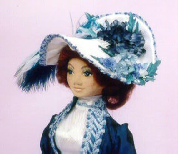 MW461E - Victoria Rose PDF Cloth Doll Sewing Pattern