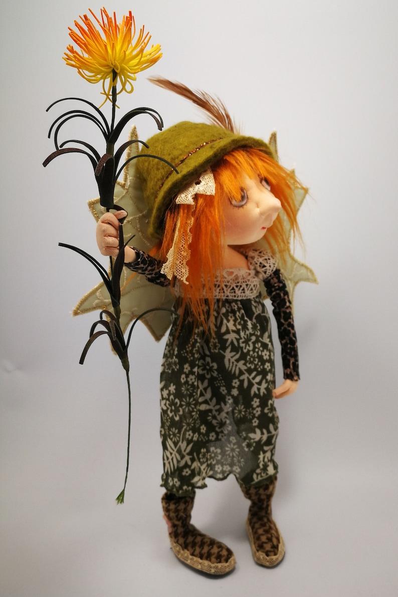 JM965E  Donatella  PDF Fairy Cloth Doll Making Sewing image 0