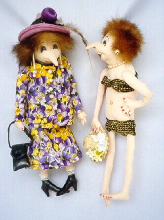 Cloth Doll EPattern - JM904E - Tillie and Tessa PDF