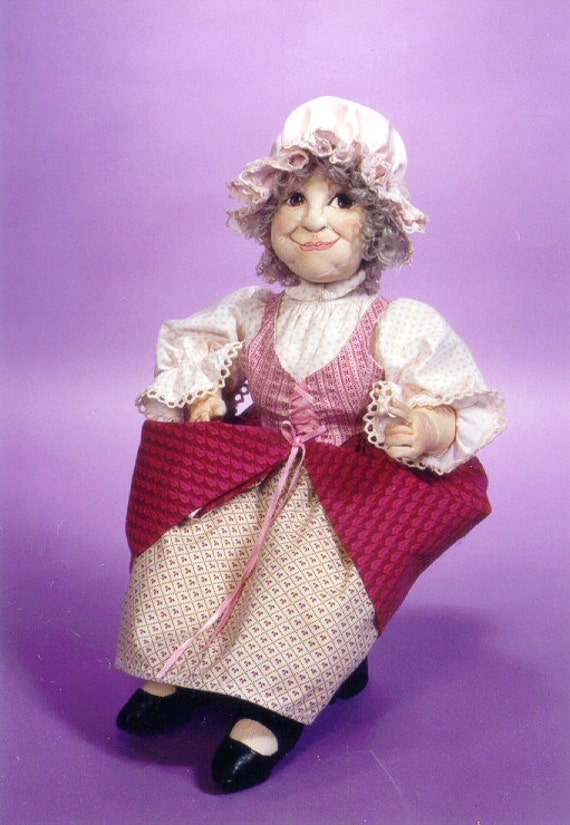 MW457E - Bertie PDF Cloth Doll Making Sewing Pattern