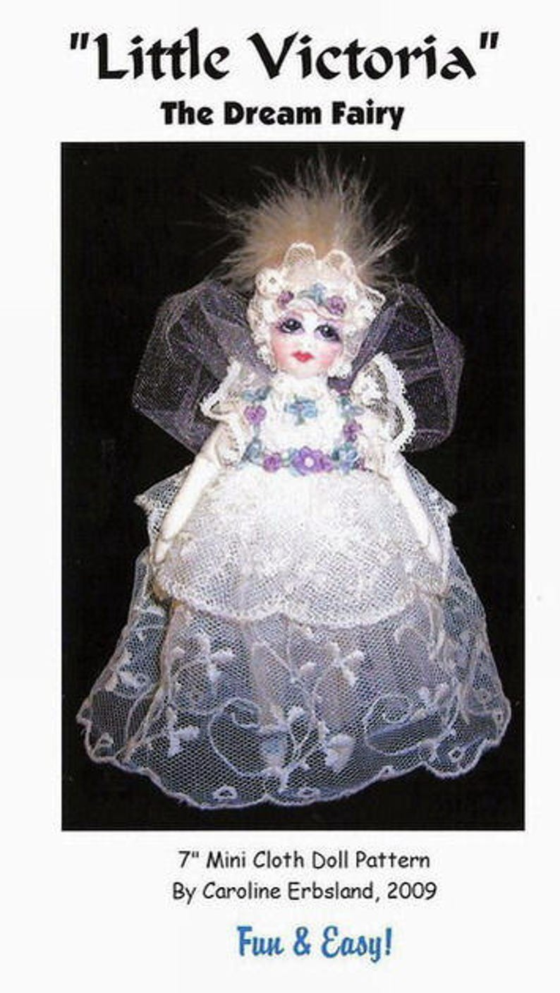 "/""Crystal Mermaid Of The Lake/"" By C Erbsland E-Pattern 21/"" Cloth Art Doll"