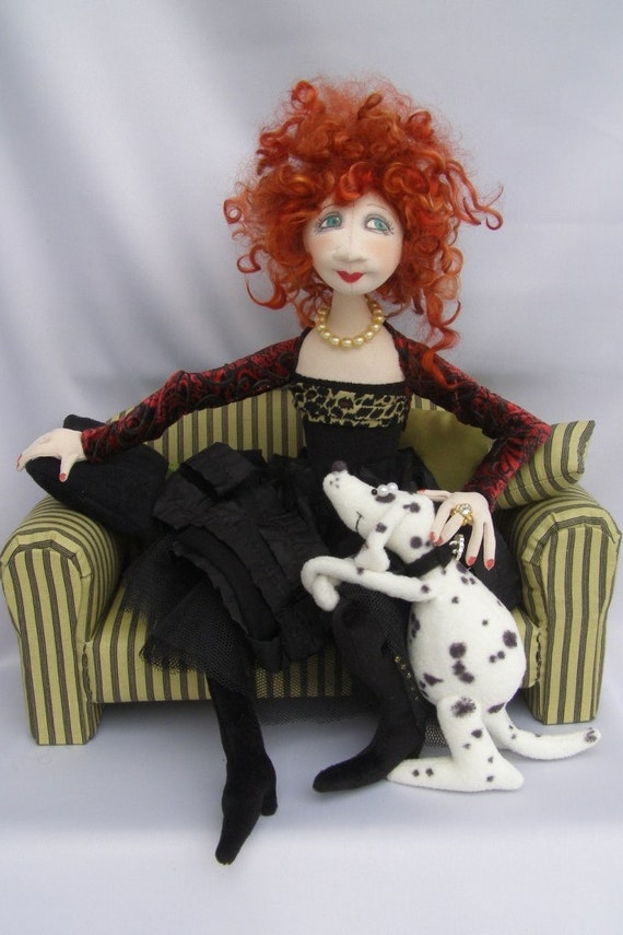 JM938E - Lola and Nelson PDF  Cloth Sewing Doll Pattern