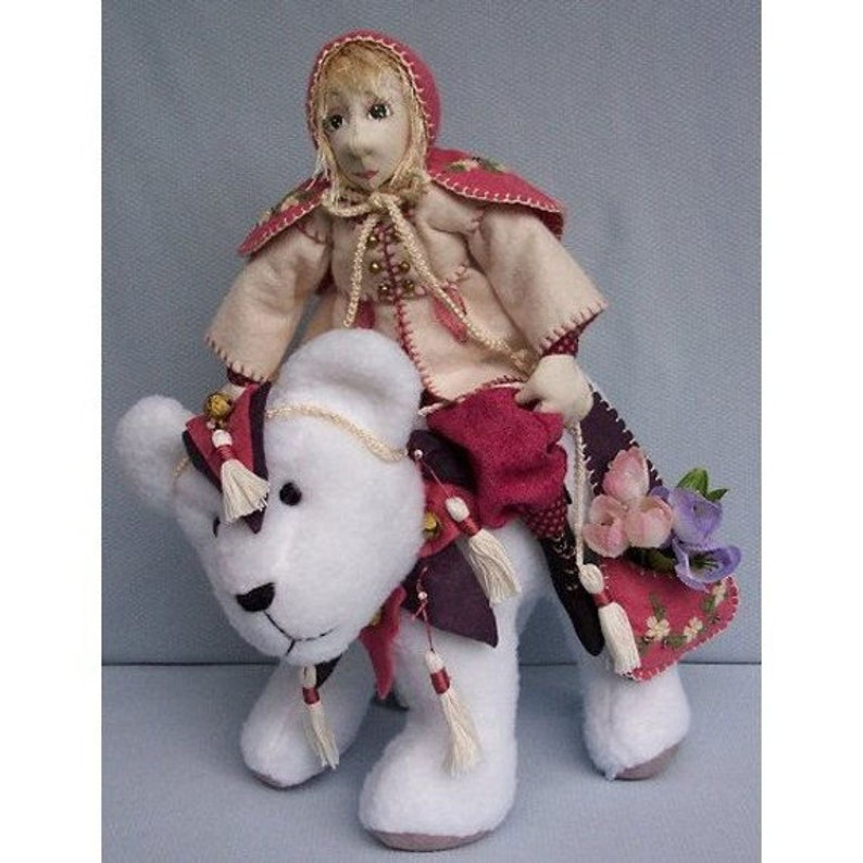 PDF Download by Billie Heisler HB805E Twinkles /& Jingles the Bear Cloth Doll Making Sewing Pattern