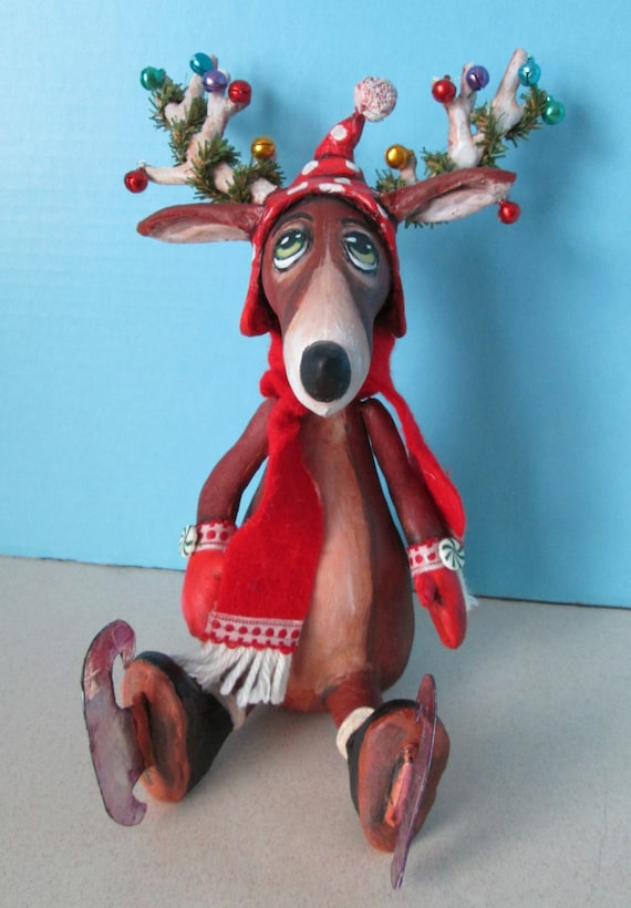SE505E - Skating Reindeer PDF