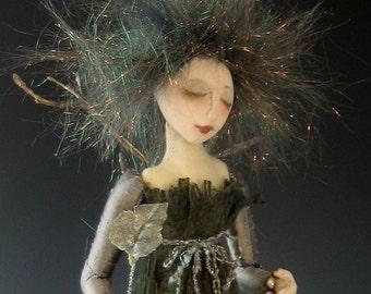 CR912E - Silvanna PDF Cloth Art Doll Making Sewing Pattern