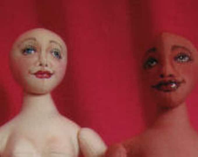 DJ03E - Doll For All Seasons PDF - Basic Doll Body Cloth Doll Pattern - Doll Making Sewing Instructions