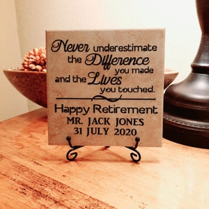 Retirement Candle Gift Personalized Retirement Gift Retirement Card Retired Life is the Best Life Candle Gift Retirement Gift
