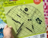 "12"" Clammy Quilting Ruler by Latifah Saafir"