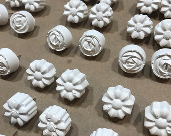 Sunny floral pushpins brighten your home or office!