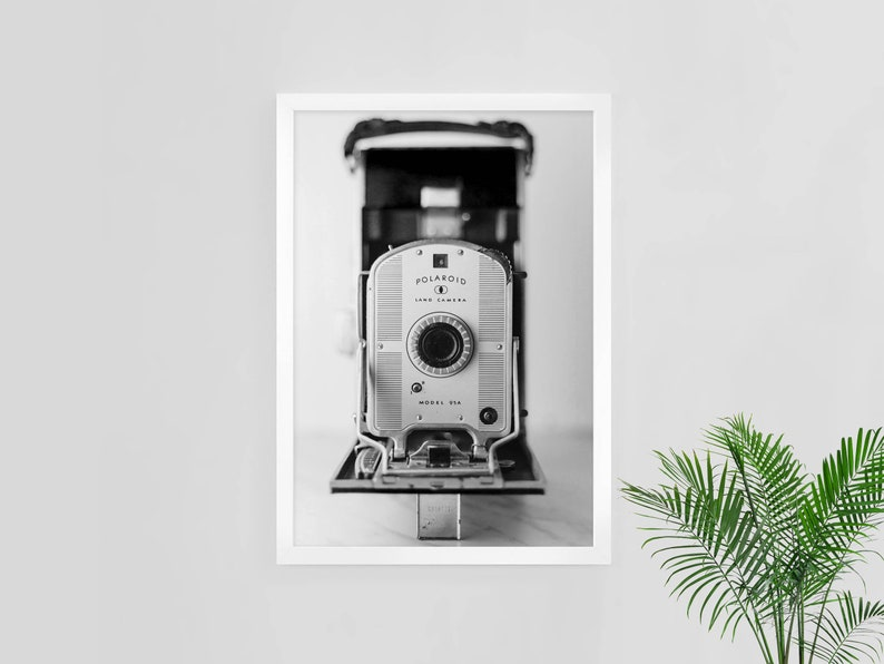 photo about Polaroid Camera Printable called polaroid digicam print, common polaroid, images digicam poster, printable wall artwork, quick obtain, bw photograph, commercial house decor