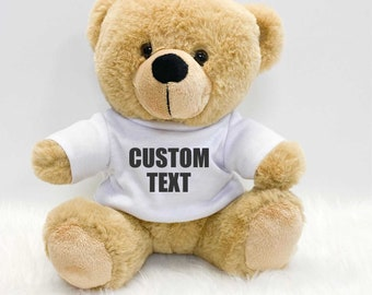 Embroidered Baby Girl Hat with a Cute Teddy Bear Personalized with Costum Name