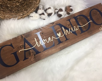 bridal shower gift personalized wooden sign custom wedding sign personalized wedding gift family sign gift for bridal shower
