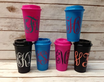 Personalized Coffee Cup, Teacher Gift, Custom Coffee Mug, Teacher Coffee Mug - Monogrammed Coffee Cup