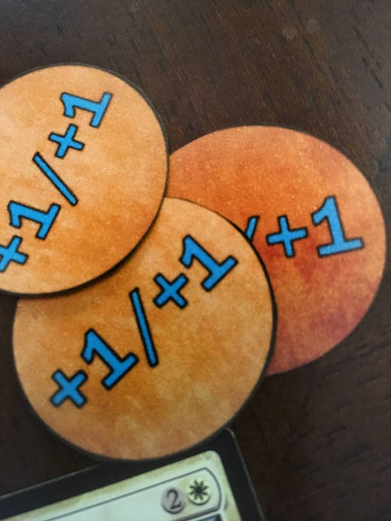 graphic regarding Magic the Gathering Printable identify Magic the Collecting Just one A single Counter Tokens Printable-35 Amount Tokens