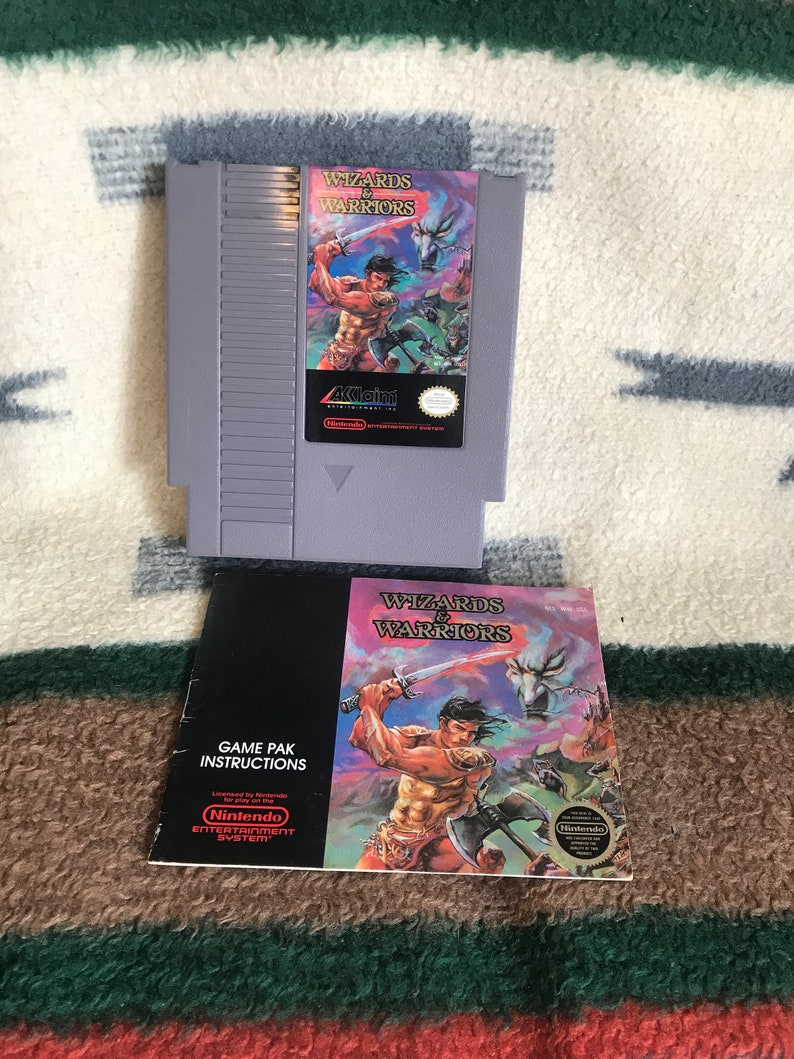 wizards and warriors nes rom